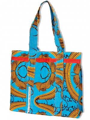 Recycled Sachet Tote