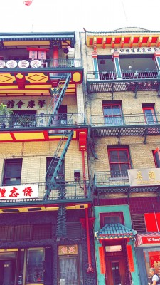 Buildings in Chinatown