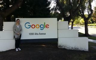 Google logo in Google Campus