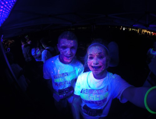 Black Light Run in San Jose